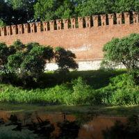 Крепостная стена., Смоленск