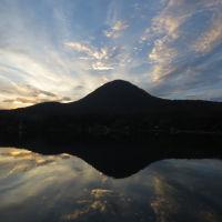 гора Железная на закате, Железноводск