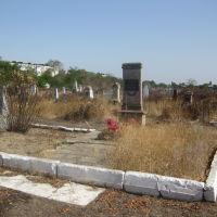 могила героя гражданской войны И.А.Кочубея, Буденновск