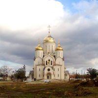 Строящийся храм., Георгиевск