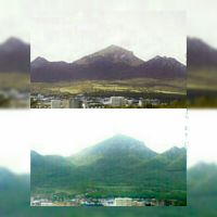 Вид на Пятигорск и гору Бештау, Пятигорск