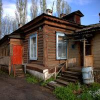 Двор дома 60А по ул Рабоче-Крестьянской, Кирсанов