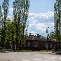 угол ул. Гоголя и Рабоче-Крестьянской, Кирсанов