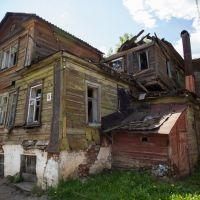знаменитый дом на ул. Рабоче-Крестьянской, Кирсанов