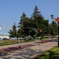 Бульвар, Рассказово