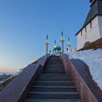 лестница   казанский   кремль, Казань
