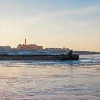 баржа на     казанке, Казань