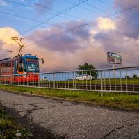 Красный трамвай., Набережные Челны