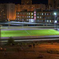 Школа №41,ночью., Набережные Челны