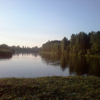 Река Итатка, Асино