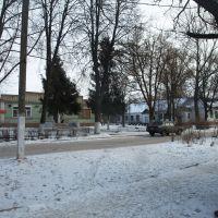 Улица Первомайская возле почты., Болохово
