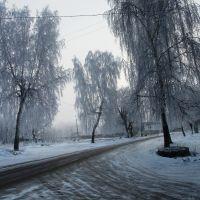 Зима на улице Ленина, Болохово