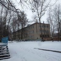 Улица Первомайская, спальный корпус школы интерната, Болохово