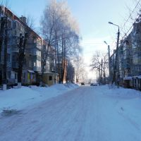 Начало улицы Первомайской, Болохово