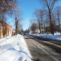 Улица Советская зимой, Болохово