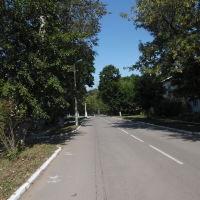 Улица Мира перед парком, Болохово