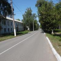 Улица Мира возле парка, Болохово