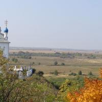 Успенский собор, место захоронение воинов, Епифань