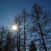 солнце, Надым