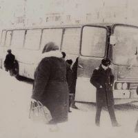 1978 аэропортовский автобус, Надым