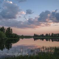 река Колосья, Урай