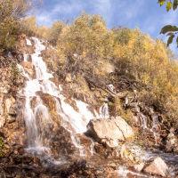 Водопад, Горный