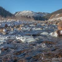 Силинка  в  районе  рудника, Горный