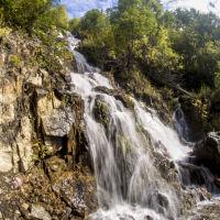 Водопад в Горном, Горный