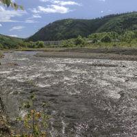 Силинка в районе водопада, Горный