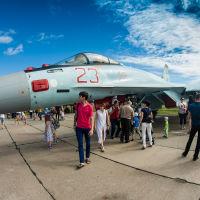 День  ВВС  в  23 БАП,  2017  год., Комсомольск-на-Амуре
