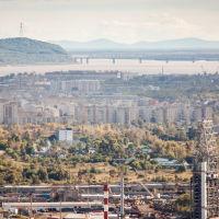 Панорама  города  с  сопки  6-го  участка, Комсомольск-на-Амуре