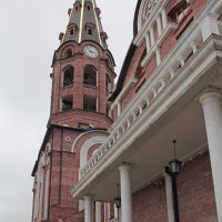Колокольня монастыря. Алатырь, Алатырь