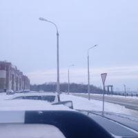 Вид на рощу со стороны спорткомплекса, Новочебоксарск
