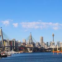ANZAC bridge, Сидней