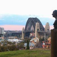 Hans Christian Andersen and Harbour bridge, Сидней
