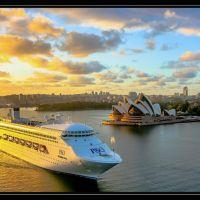 Сидней, рассвет, Сидней