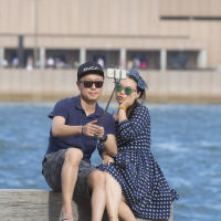 селфи, Сидней