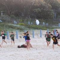 дети на пляже Марубра, Сидней