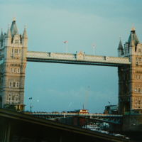 Tower Bridge. 2003, Лондон
