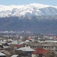 Вид с высоты города лянкяран., Ленкорань