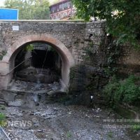 Река Гурджана, мост XVIII в., Шеки
