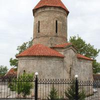 Село Киш, Албанский храм, Шеки