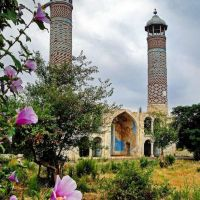 Мечеть Агдам Джума / Aghdam Juma Mosque / architect Karbalai Safikhan Karabakhi / Armenian barbarians destroyed the mosque during the occupation and used it as a stable for animals., Агдам