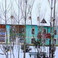 Адрасман Хиёбон (Парк) зима, Адрасман