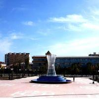 Нукус. Креативный фонтан, Нукус