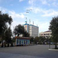Нукус. Здание АТС, Нукус
