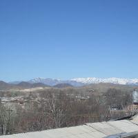 Вид на Чаткальские горы, Касансай