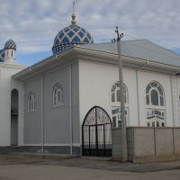 "Новая мечеть в махалле ""Чорбог"", Касансай"