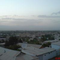 Вид с крыши дома по ул. Гулистан, 59. В сторону Кызылки, Денау