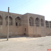 Медресе Саид-Аталык, сзади, Денау